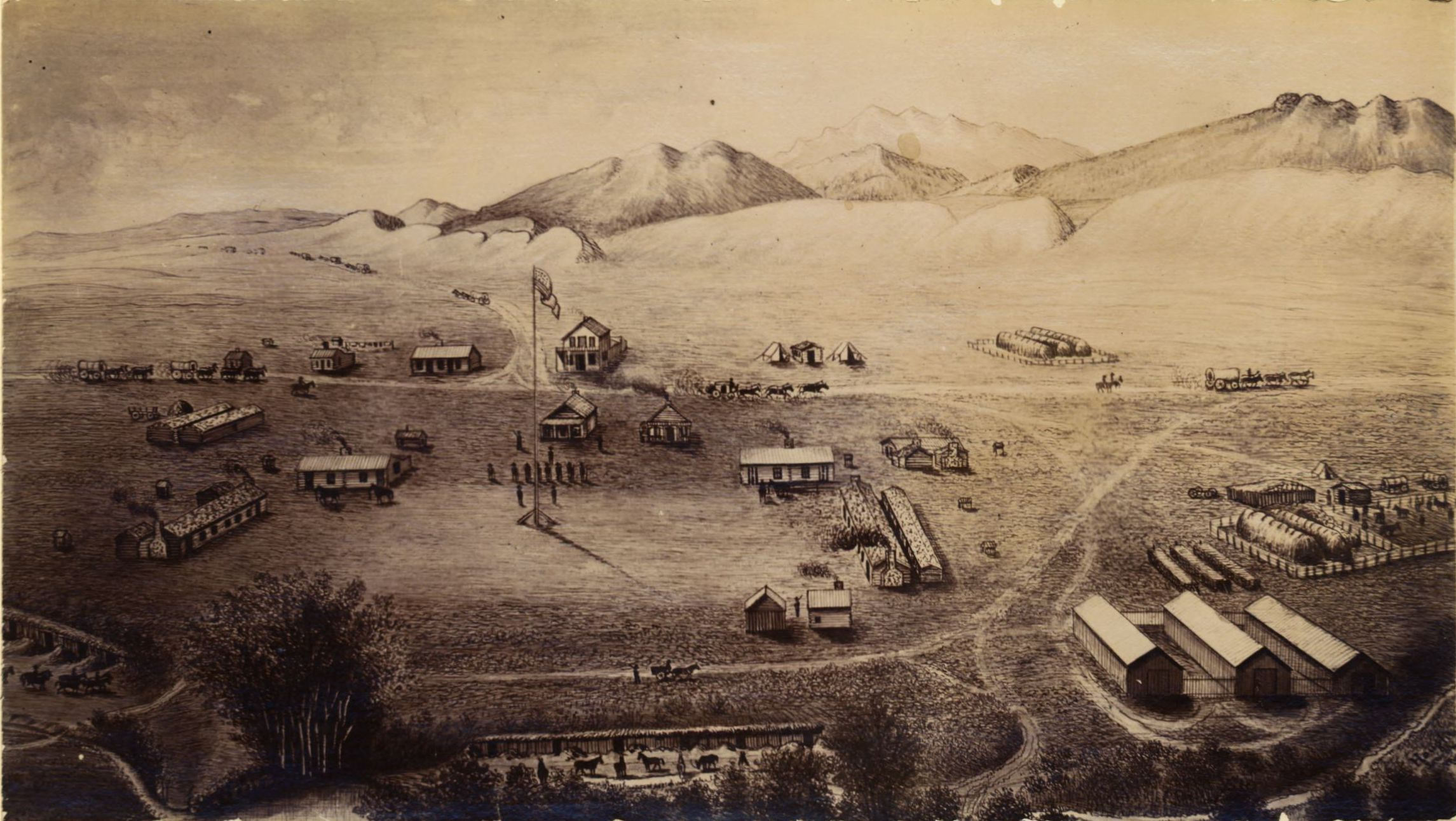 Fort collins 1865 images colorado encyclopedia - Olive garden fort collins colorado ...