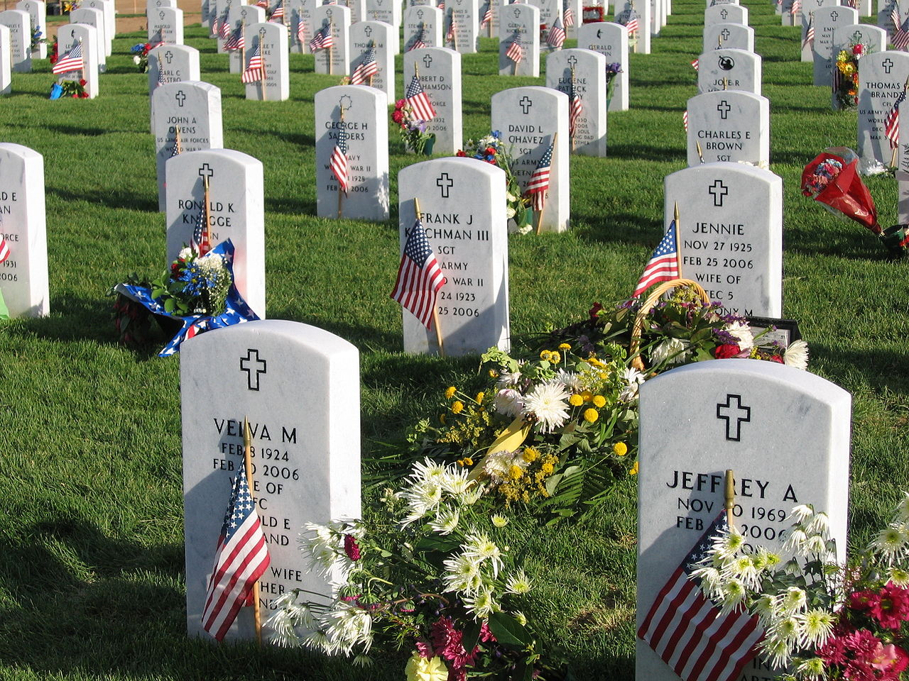 Fort Logan National Cemetery Today