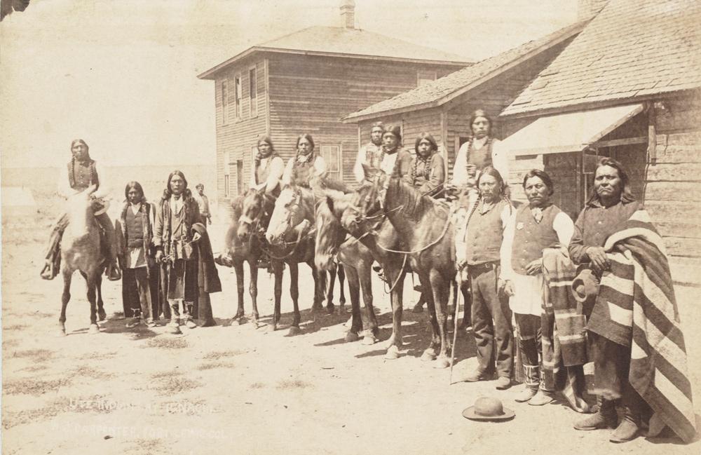 Ute Indians In Ignacio Images Colorado Encyclopedia