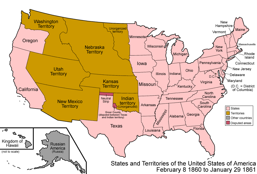 Colorado Territory | Articles | Colorado Encyclopedia