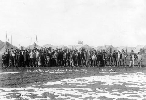 Ludlow Strikers 1914 & Ludlow Massacre | Articles | Colorado Encyclopedia