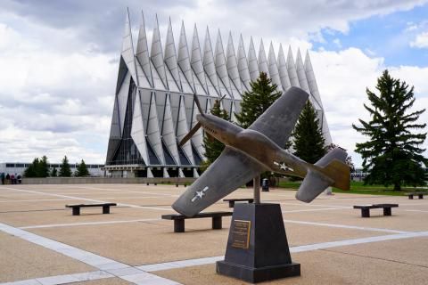 72a9dc5c132 Cadet Chapel in Air Force Academy