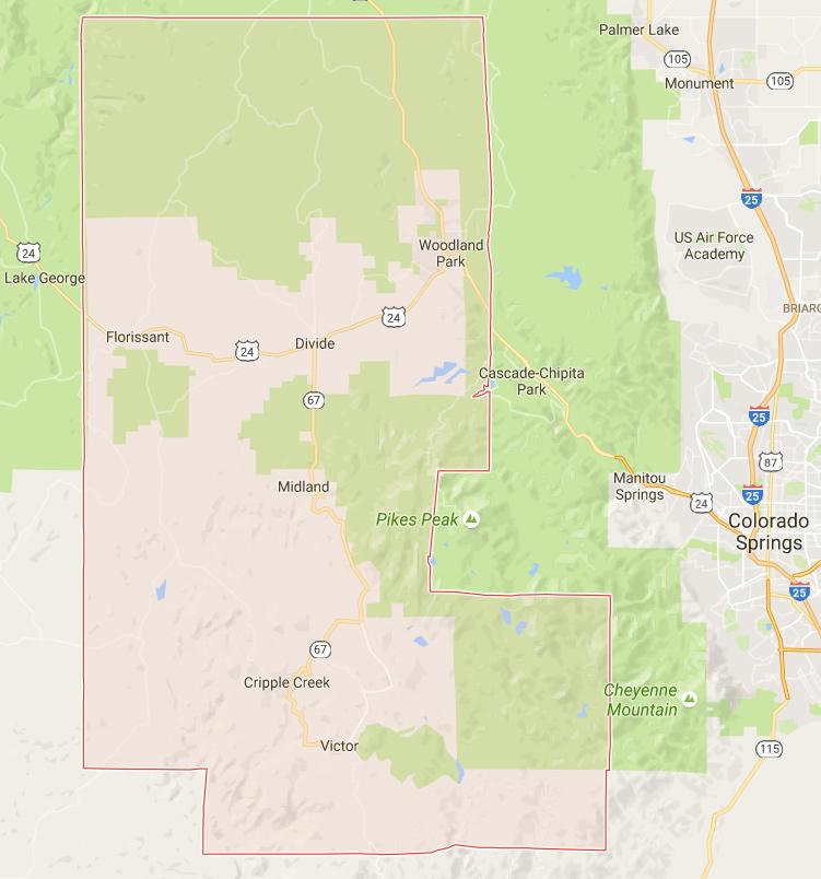 Google Colorado Map.Teller County On Google Map Images Colorado Encyclopedia